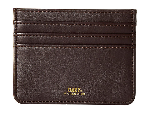 Obey - Gentry ID Wallet (Dark Burgundy) Wallet Handbags
