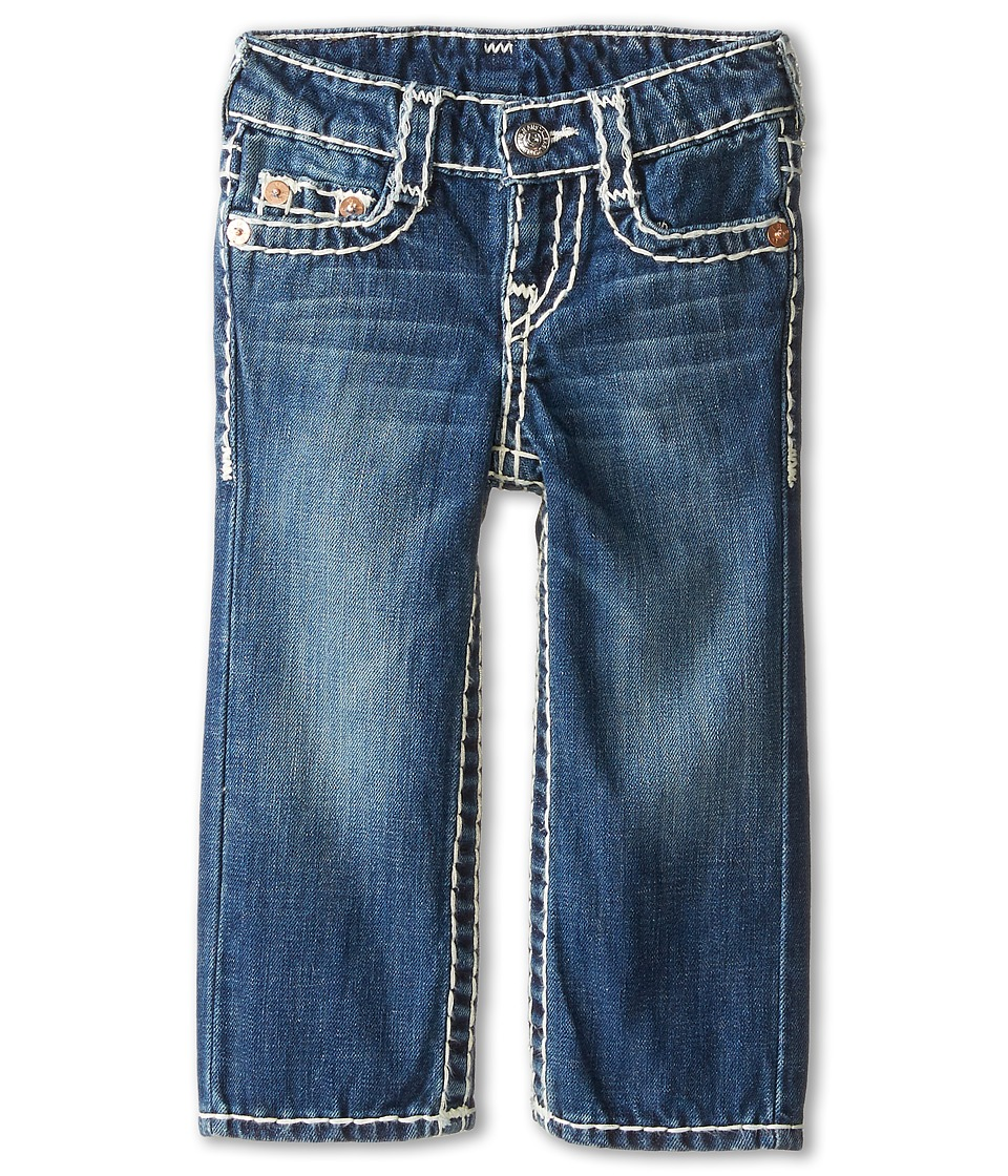 True Religion Kids - Ricky Straight Fit Natural Super T in Altitude (Toddler/Little Kids) (Altitude) Boy's Jeans