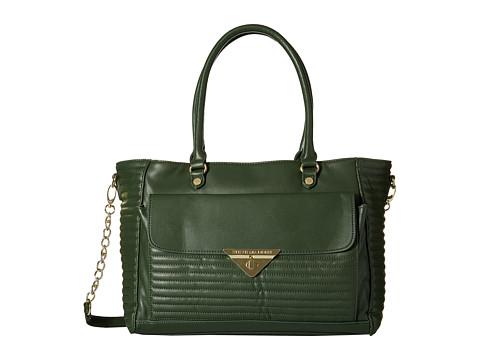 Steve Madden - Brue Quilt Tote (Green) Tote Handbags