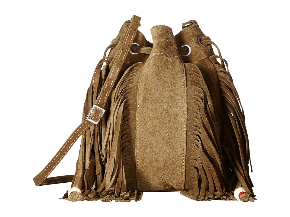 TOMS - Celestial Soft Suede Mini Crossbody (Olive) Cross Body Handbags