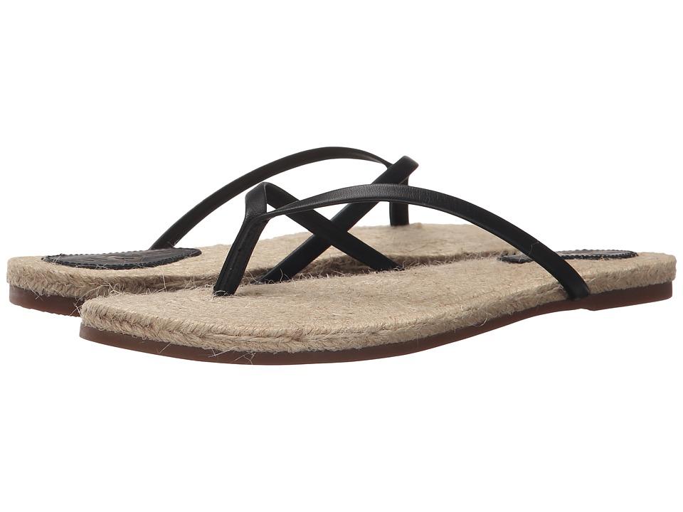 Yosi Samra - Roee Rope (Black) Women's Flat Shoes