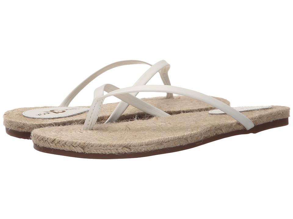 Yosi Samra - Roee Rope (White) Women's Flat Shoes