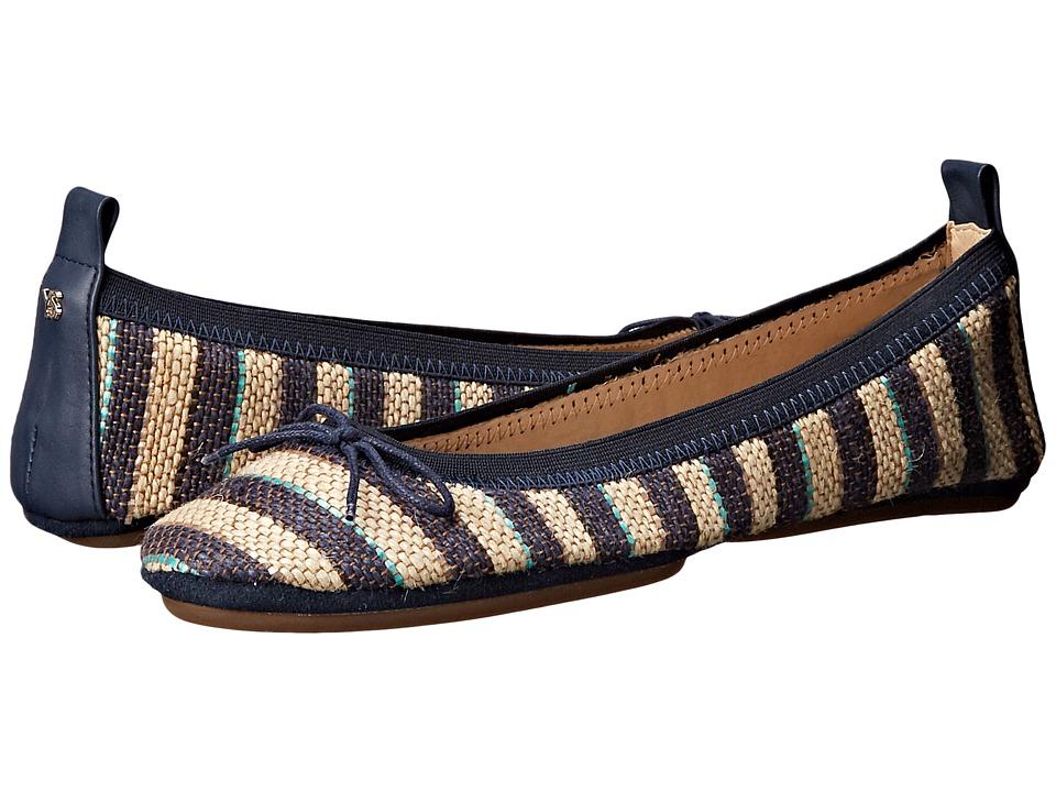 Yosi Samra - Sandrine (Indigo) Women's Flat Shoes