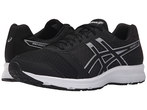 ASICS - Patriot 8 (Black/Onyx/Silver) Men