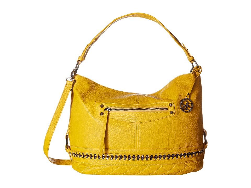 Jessica Simpson - Margaret Crossbody Hobo (Mustard) Hobo Handbags