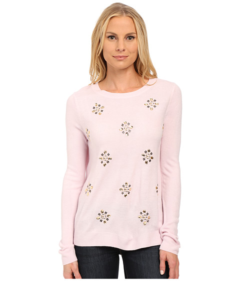 U.S. POLO ASSN. - All Over Jewel Sweater (Light Lilac Combo) Women's Sweater