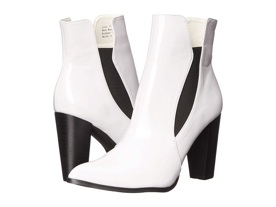 Penny Loves Kenny - Axis (White Super Patent) Women