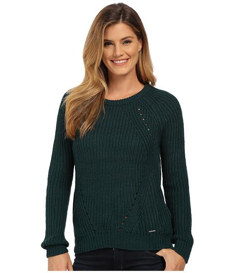U.S. POLO ASSN. - Bulky Raglan Pullover (Botanical Garden) Women's Sweater