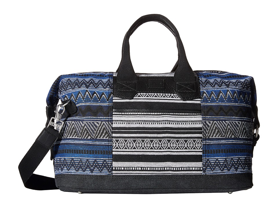 TOMS - Traveler Tribal Weekender (Black Stripe) Weekender/Overnight Luggage