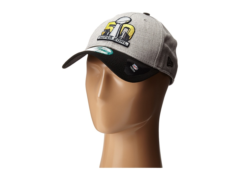 New Era - SB50 League Heather Logo (Gray) Caps