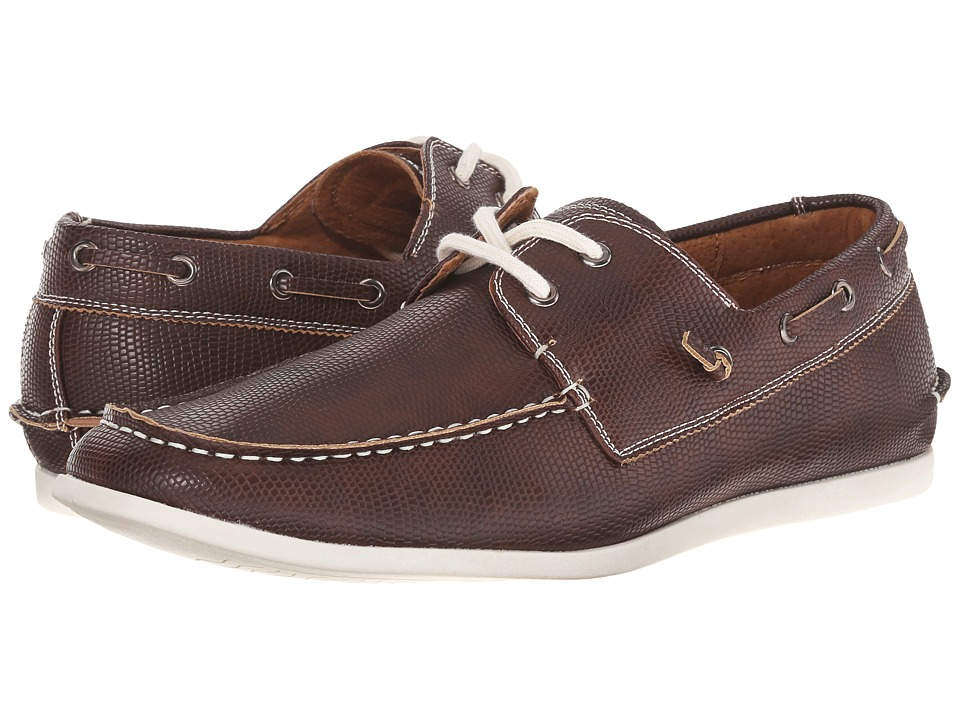 Steve Madden - Games (Brown) Men's Slip on Shoes