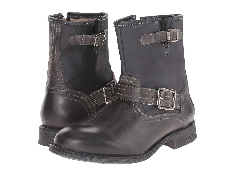 Steve Madden - Patrick (Black) Men's Zip Boots