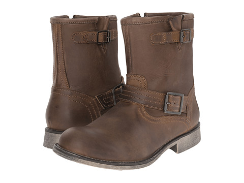 Steve Madden - Patrick (Brown) Men's Zip Boots