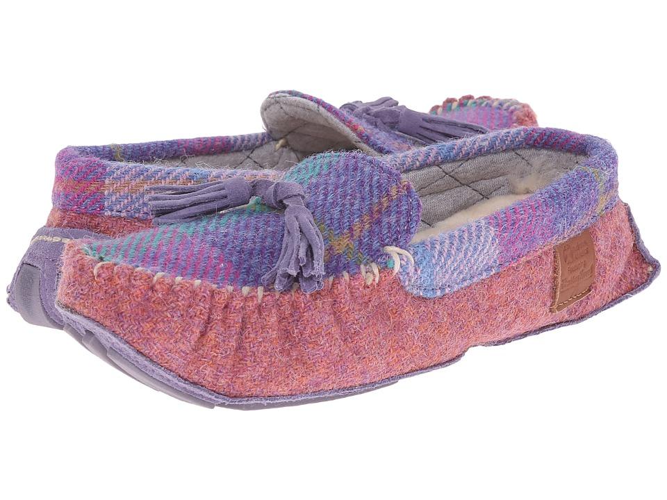 Bedroom Athletics - Zara (Lilac/Blue Check) Women's Slippers