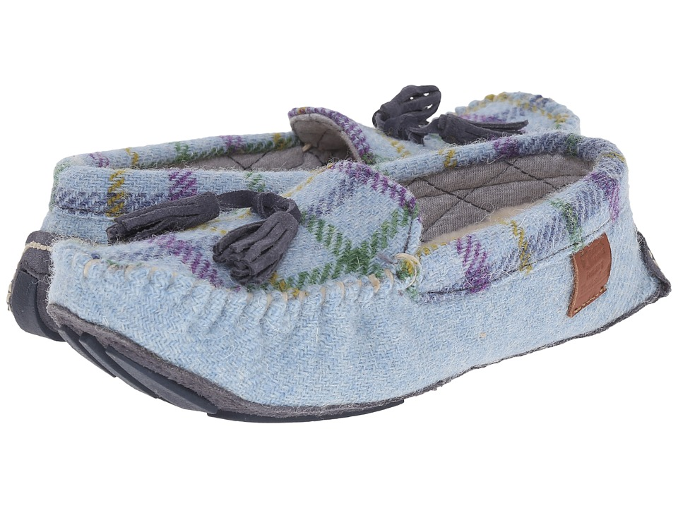 Bedroom Athletics - Zara (Light Blue Check) Women's Slippers