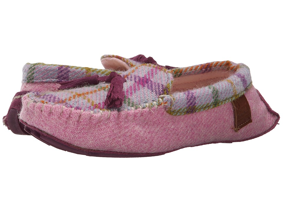 Bedroom Athletics - Zara (Lilac/Pink Check) Women's Slippers