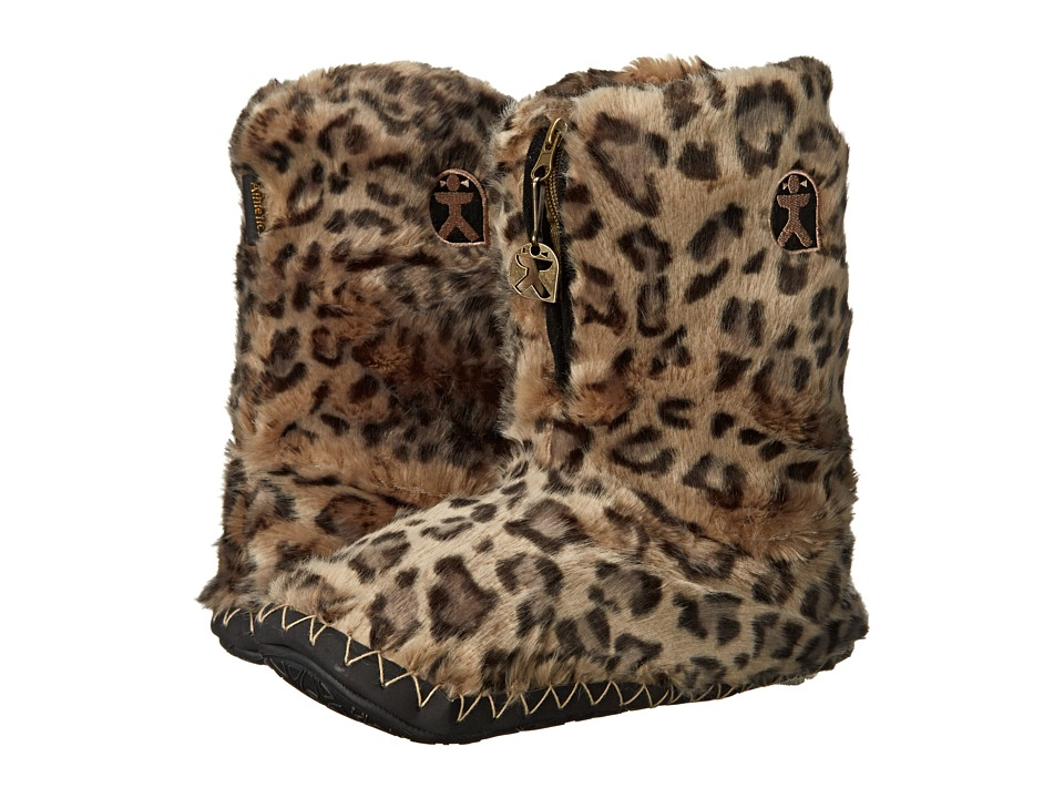 Bedroom Athletics - Cole (Grey Leopard) Women's Slippers