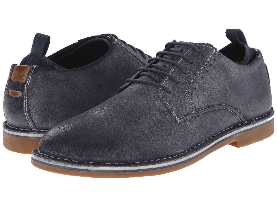Steve Madden - Stannis (Navy) Men's Lace up casual Shoes