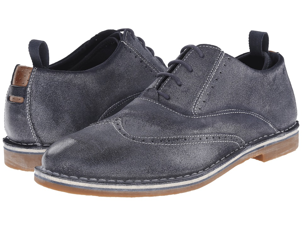 Steve Madden - Stark (Navy) Men's Lace up casual Shoes