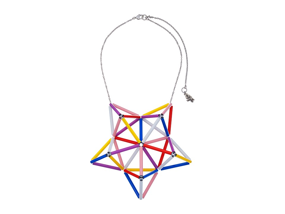 WXYZ - Star Pendant Necklace (Multicolor) Necklace