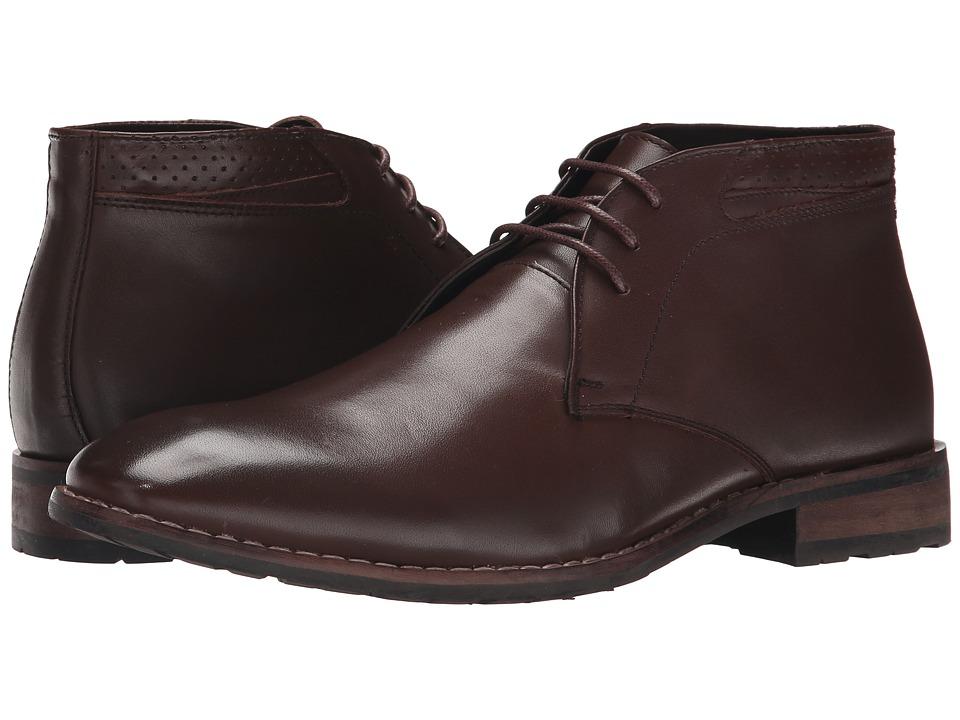 Steve Madden - Eddard (Brown Leather) Men