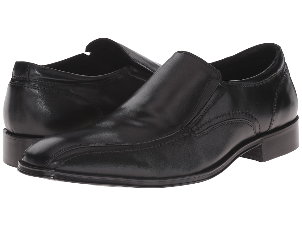 Steve Madden - Canid (Black Leather) Men