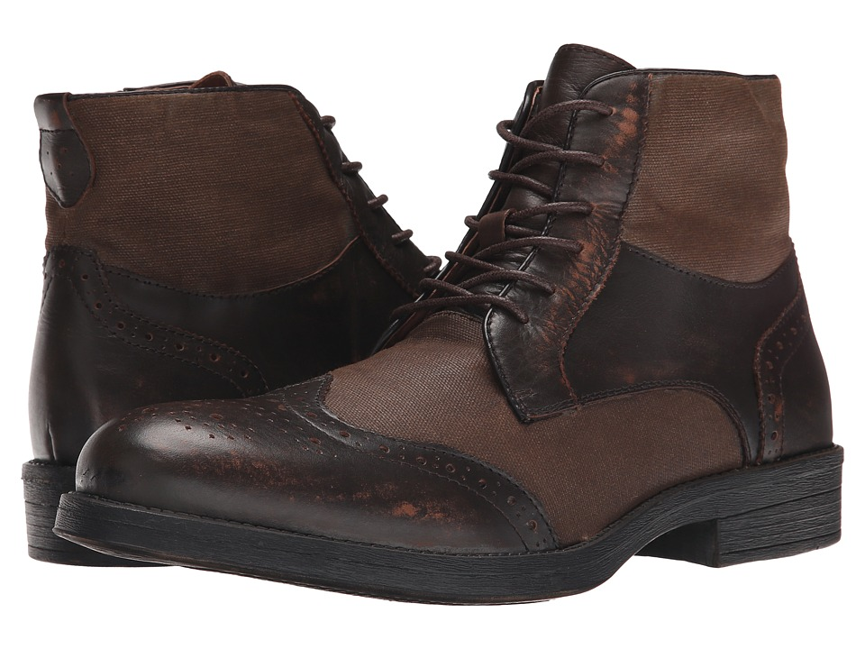 Steve Madden - Divon (Brown Leather) Men
