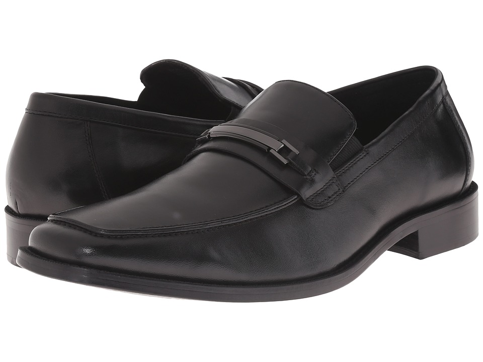 Steve Madden Drylled (Black Leather) Men