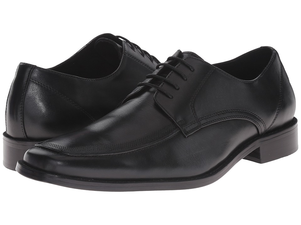 Steve Madden - Dressed (Black Leather) Men's Lace up casual Shoes