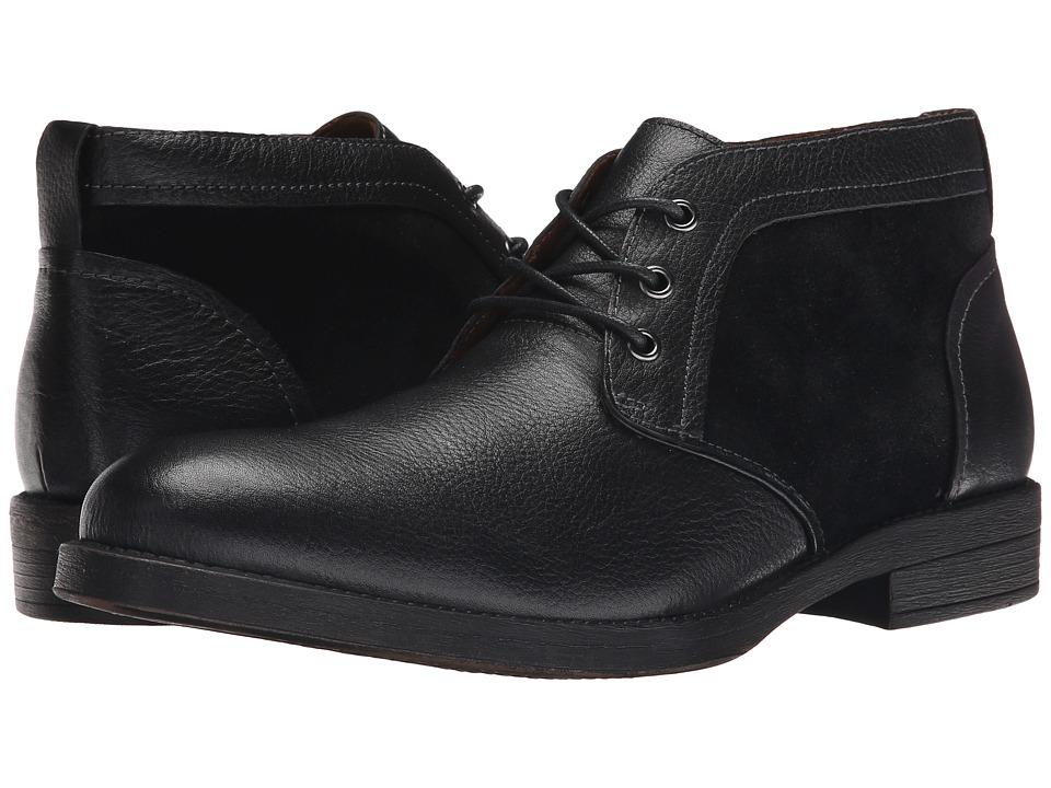 Steve Madden - Deron (Black Leather) Men