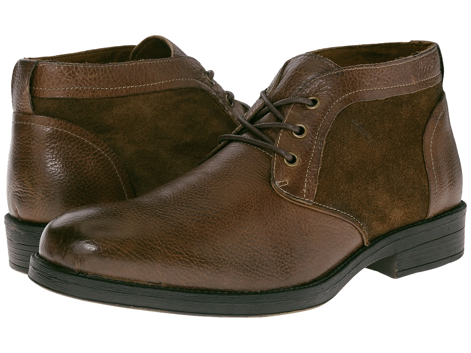 Steve Madden Deron (Brown Leather) Men