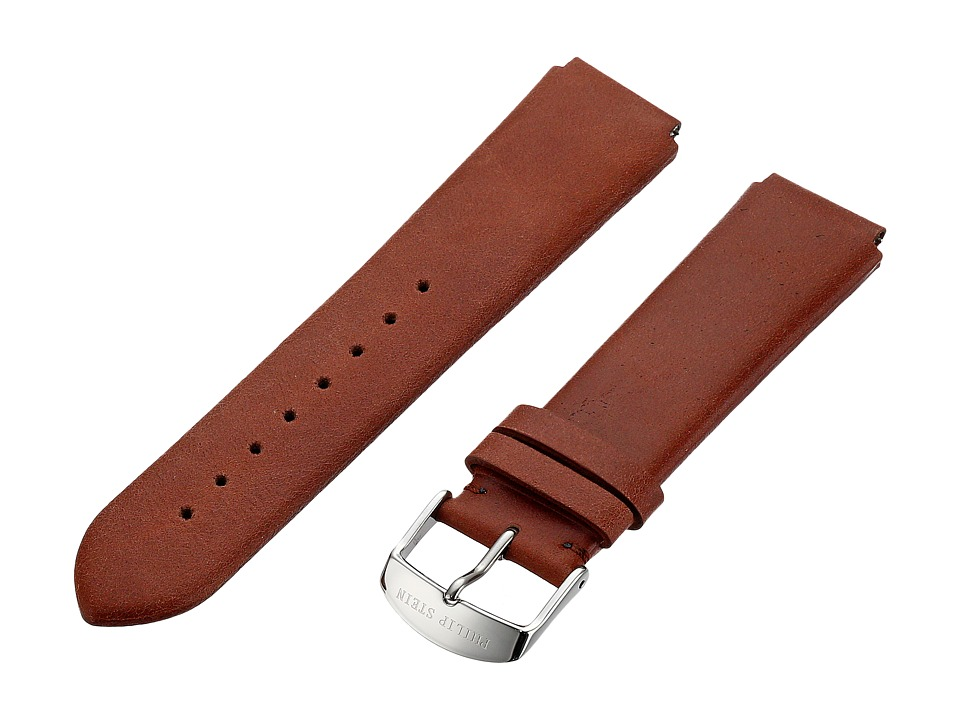 Philip Stein - 20mm Maroon Vintage Calf (Maroon) Watches