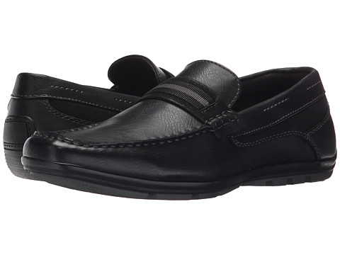 Steve Madden - Nave (Black) Men's Slip on Shoes
