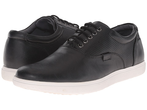 Steve Madden - Renly (Black) Men's Lace up casual Shoes