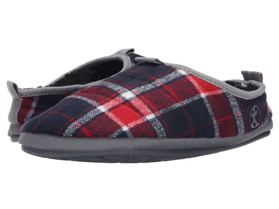 Bedroom Athletics - Bale (Red/Navy) Men's Slippers