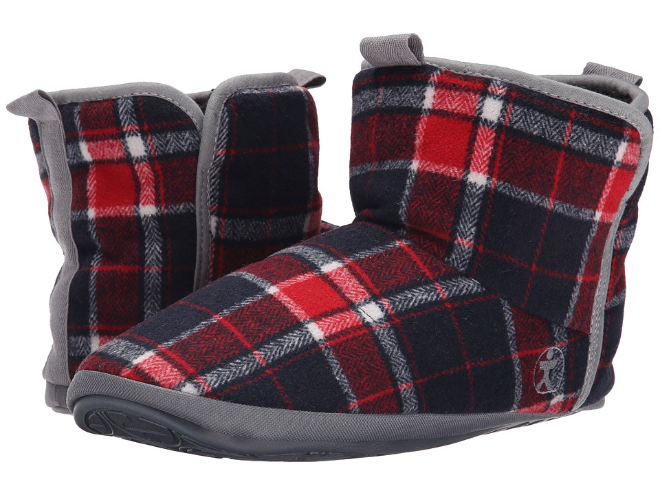 Bedroom Athletics - Depp (Red/Navy) Men's Slippers
