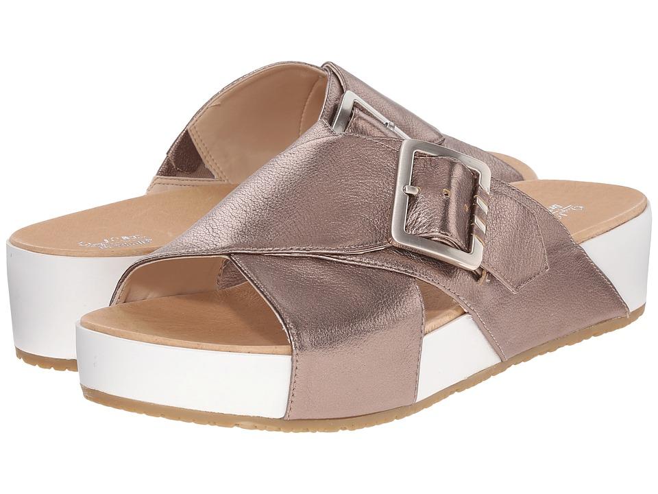 Dr. Scholl's - Flight Original Collection (Molten Pewter/White Bottom) Women's Sandals