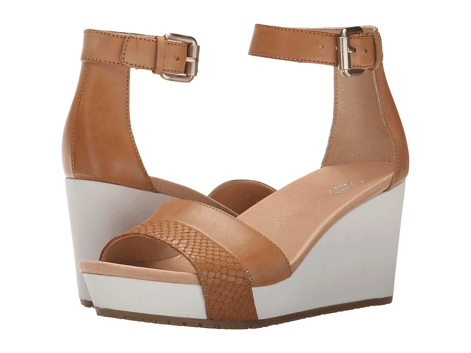 Dr. Scholl's - Warner - Original Collection (Sienna Tan) Women's Wedge Shoes
