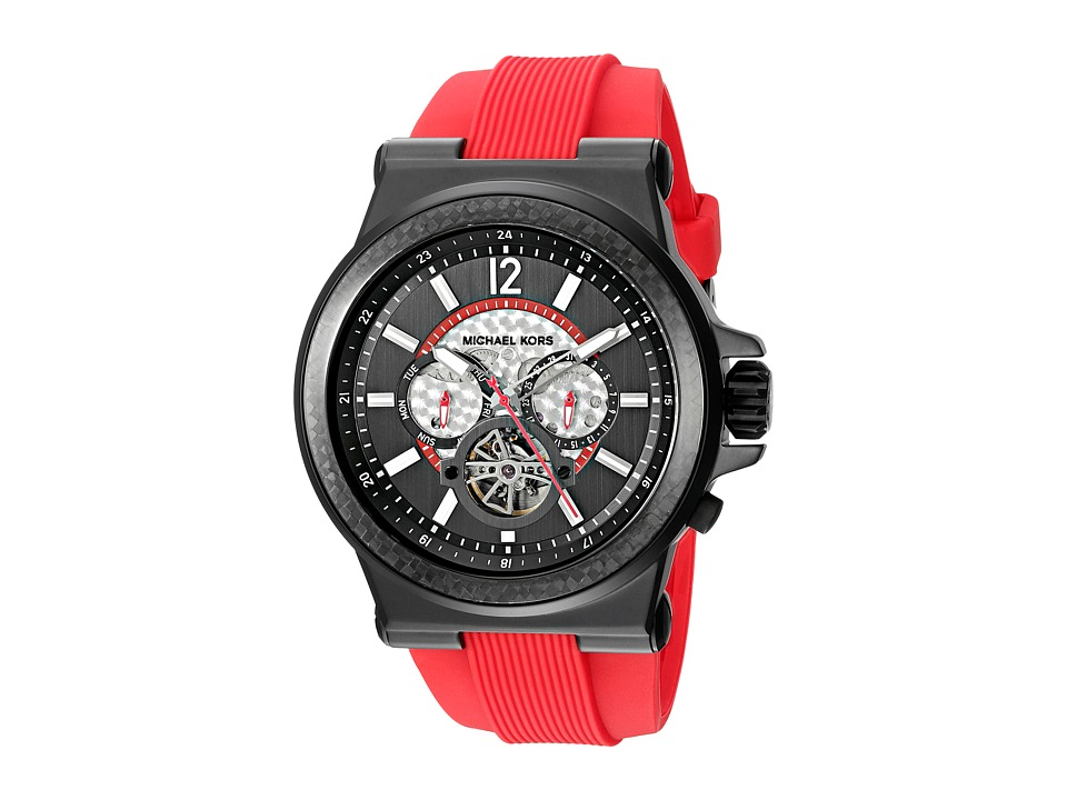 Michael Kors - Dylan (MK9020 - Black/Red) Analog Watches