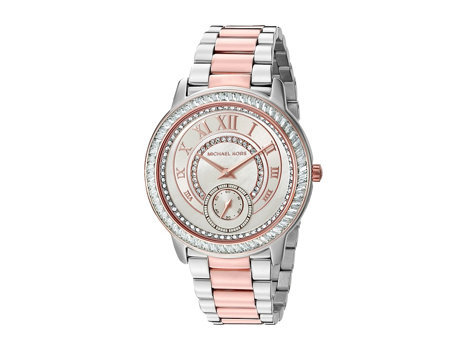 Michael Kors - Madelyn (MK6288 - Two-Tone Stainless/Rose) Watches