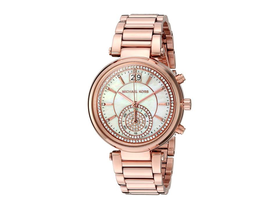Michael Kors - Sawyer (MK6282 - Rose Gold) Watches