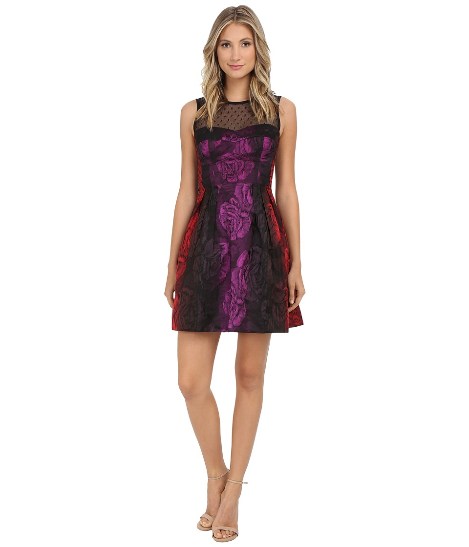 Nanette Lepore Juliet Rose Dress (Scarlet Multi) Women