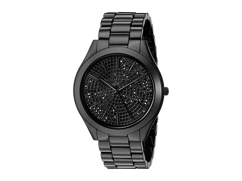 Michael Kors - Slim Runway (MK3449 - Black) Analog Watches