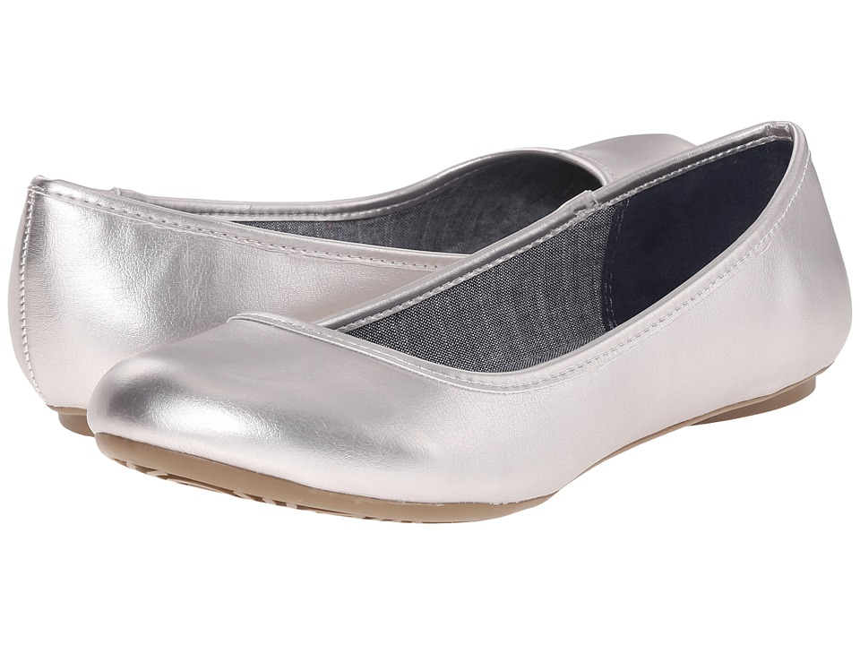 Dr. Scholl's - Friendly (Silver Metallic) Women's Flat Shoes