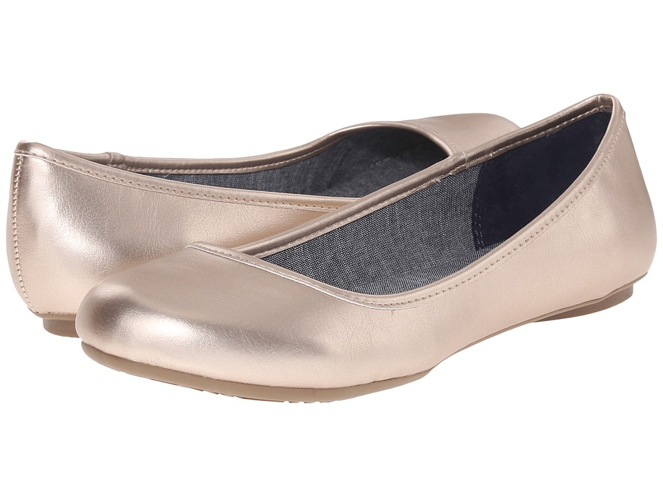 Dr. Scholl's - Friendly (Rose Gold Metallic) Women's Flat Shoes