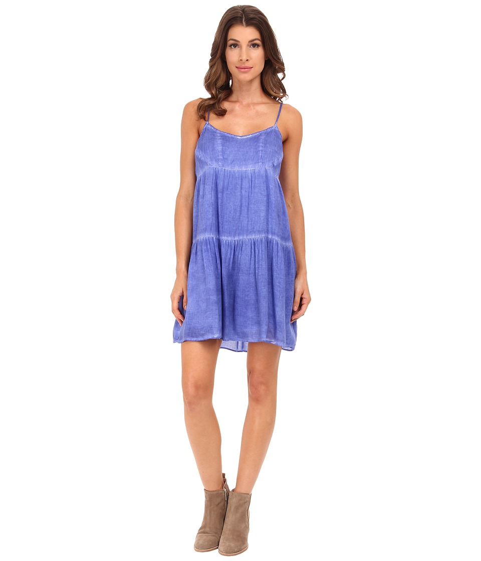 Olive & Oak - Dyed Woven Dress (Indigo Surf) Women's Dress