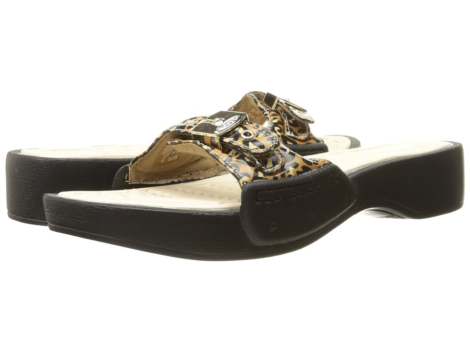 Dr. Scholl's - Rock (Brown/Black Leopard Pony) Women's Shoes