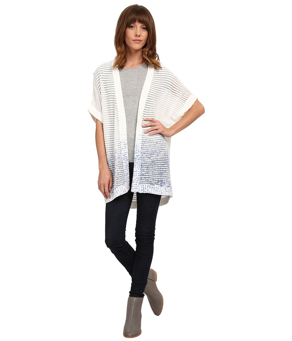 Olive & Oak - Ombre Dolman Cardi (Blue Horizon Combo) Women's Sweater