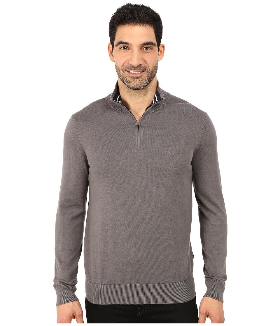 Nautica - 1/4 Zip Sweater (Castlerock) Men's Sweater