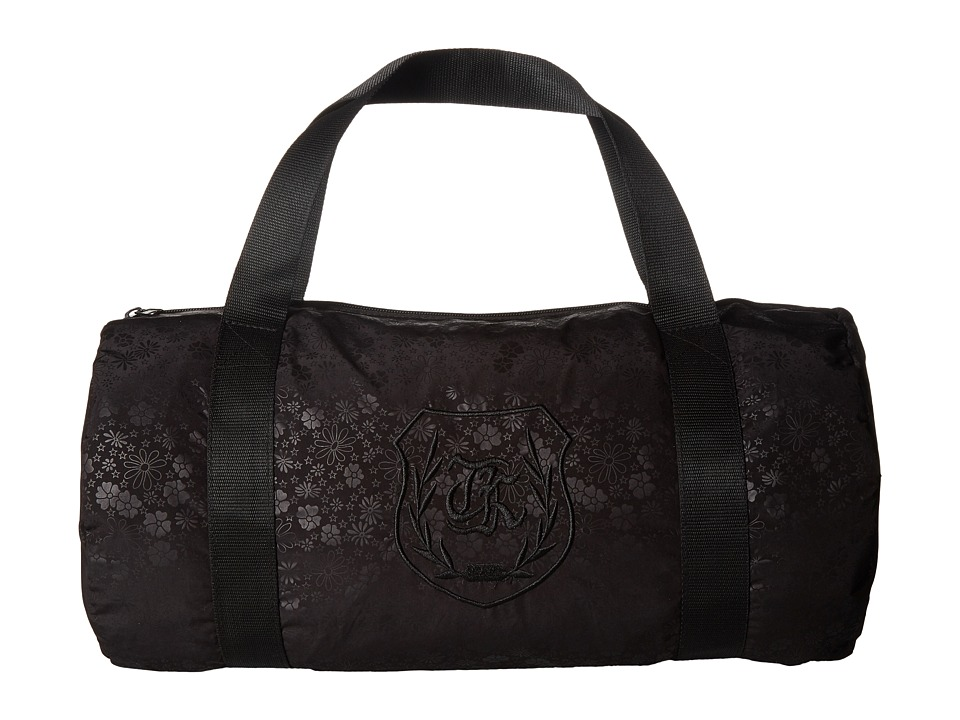 The Kooples - Jacquard Flower Bag (Black) Duffel Bags